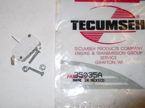 Tecumseh 35035A Power Restart Micro switch for TVS & LV Engines